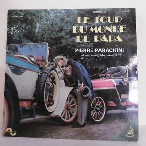 33T-Pierre-PARACHINI-Disco-LP-RECORRIDO-POR-LA-MUNDO-PAPA-Vol-4-Automovil