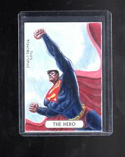 2016 Cryptozoic DC Justice league Angelo De Capva sketch card