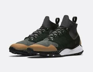 Nike Air Zoom Talaria Mid Flyknit PRM 875784-001 Black/Gray Men's SZ 10 Shoes