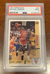 1991-Upper-Deck-44-Michael-Jordan-PSA-9-Mint-Chicago-Bulls