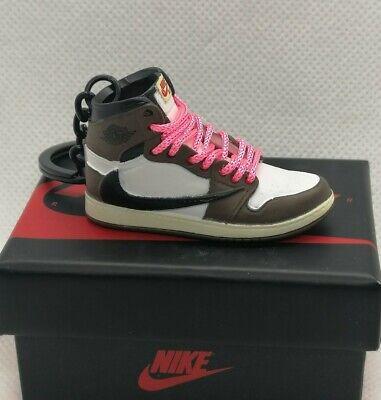 Porte clés 3D Nike Air Jordan 1 Travis Scott Cactus Jack   eBay