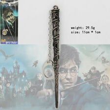 New Harry Potter Replica Magical Hermione's Wand Pendant Cosplay Metal Key Chain