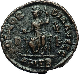VALENTINIAN-II-378AD-Antioch-Authentic-Ancient-Roman-Coin-Rome-as-Roma-i66466