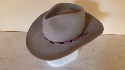 Stetson Western Cowboy Fedora Hat 6 7/8 - 7 Green