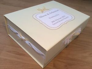 Details About Extra Large Keepsake Memory Box Personalised Gift Baby Wedding Christening
