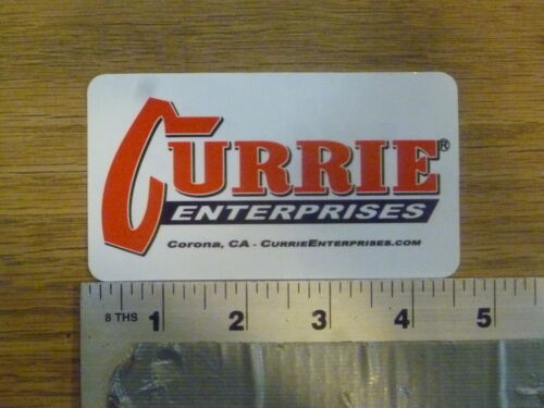 Currie Enterprises Sticker Decal