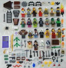 25 NEW LEGO MINIFIG LOT city town Men Women accessories minifigure people zombie