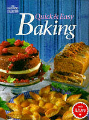 (Very Good)1863430695 Quick and Easy Baking (Good Cook's Collection),,Paperback