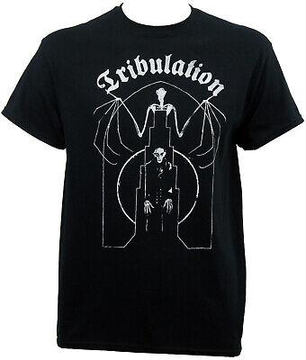 Authentic TRIBULATION Band Bat Nosferatu Raglan Baseball T-Shirt S-2XL NEW