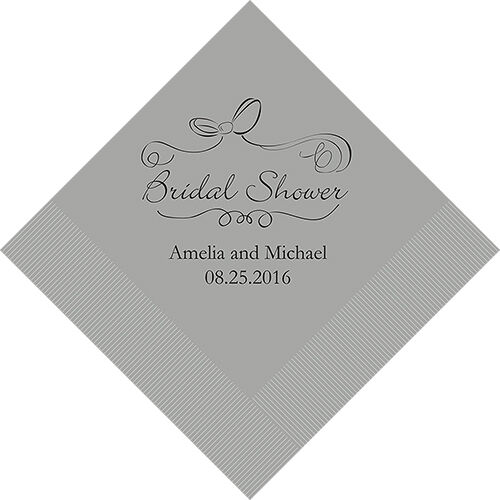 300 Bridal Shower Personalized Luncheon Napkins