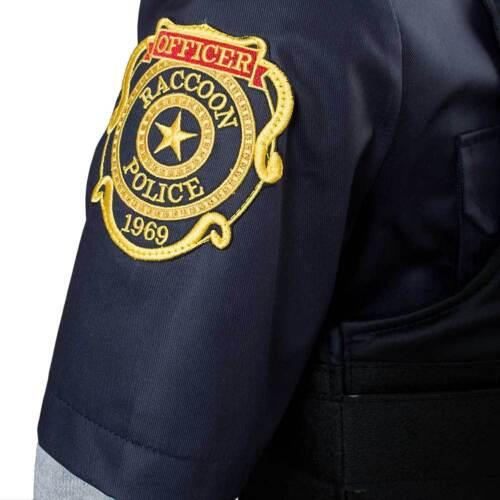 Cosplay Resident Evil 2 Remake Biohazard Re:2 Leon Scott Kennedy Police Costume