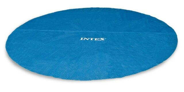 Intex 8ft Solar Pool Cover for Frame or Easy Set Pools #29020