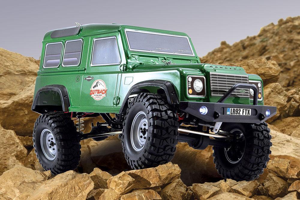 Ftx Outback V2 Ranger (Land Rover) 4x4 Rock Crawler RTR juicio RC coche Inc Bat + CRG