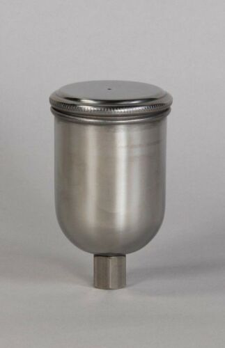200cc All Stainless Steel Gravity Cup for detail guns M14 x1.0 metric fitting