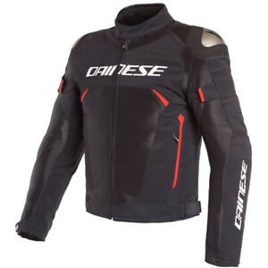 Dainese-Men-039-s-Dinamica-Air-D-Dry-Motorcycle-Jacket-Black-Red-Size-52-EU