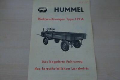198154) Hummel - Vielzweckwagen Type H2a - Prospekt 195?