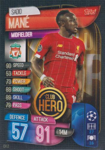 Ligue des Champions 19//20 2019 2020 Extra-ch2-Sadio Mane-Club Hero