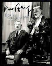 Mario Adorf und Horst Bollmann Original Pressefoto Original Signiert ## G 11268