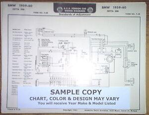 1959 Ford (English) FOUR Series Prefect Models AEA Wiring Diagram ... 1972 chevelle wiring diagram pdf eBay