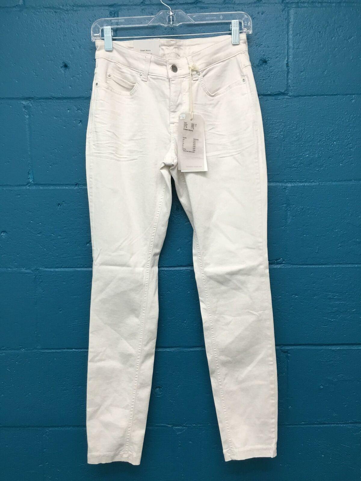 Mac Femme Jeans Dream Skinny Jeans 34x30 en coton ivoire polyester spandex