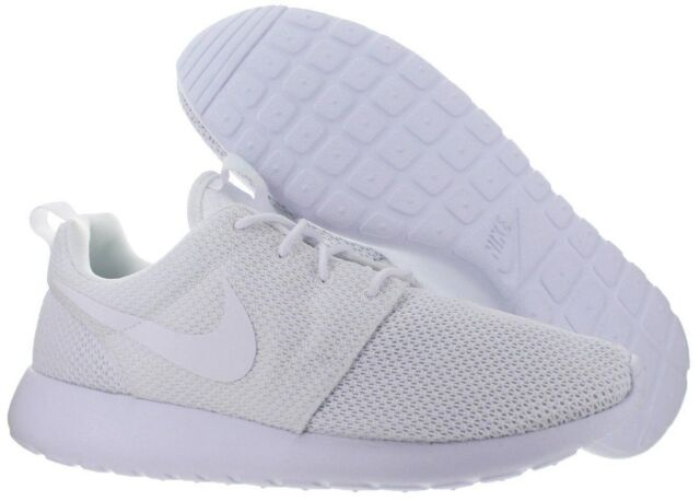 sale retailer 7ba53 ad86c NIke Roshe One 511881 112 Triple White mesh running NEW W  BOX Men s size  12.5