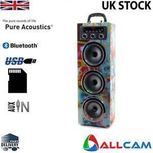 Pure Acoustics MCP30 Portable Karaoke Machine w/Mic for Smartphone, Ipod-Grafity