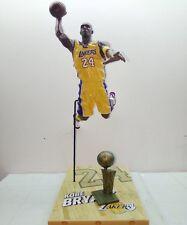 NBA McFarlane Toys Kobe Bryant Series 17 Yellow Jersey w/ Bronze Trophy