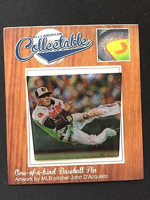 Sport KöStlich Baltimore Orioles Manny Machado Revers Pin-limited Edition-fan Favorite Spieler