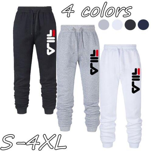 √√Men Women Fitness Sweatpants Mens Casual Pants Soft Sports Pants Jogging Pants