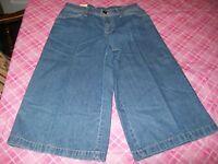 Bill Blass Goucho Jeans Size Women's 4 Petite