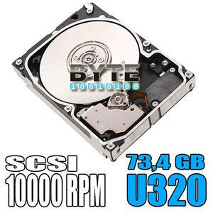 Festplatte-73GB-10000-U-min-U320-SCSI-80-Pol-IBM-Hitachi-IC35L073UCDY10-0