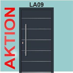 Haustur Anthrazit Wh 75 Aluminium Mit Kunststoff Haustur La09