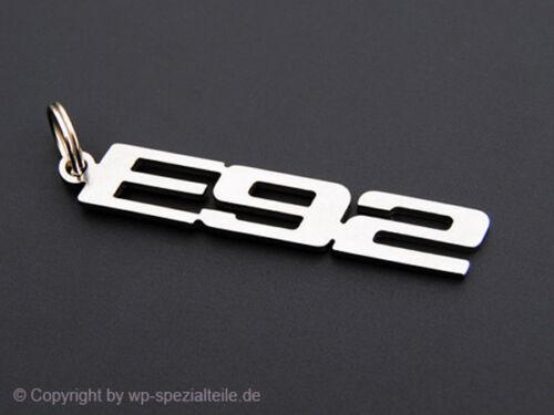 BMW E92 Keychain Keyring Chain Fob Keyfob M3 Tuning Alpina 325xi 323i 320 si 318