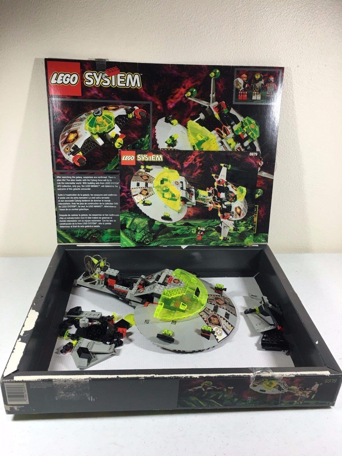 LEGO SYSTEM 6979 Interstellar Starfighter fibre optique