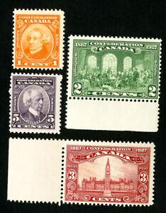 Canada-Stamps-141-4-VF-OG-NH-Catalog-Value-33-00