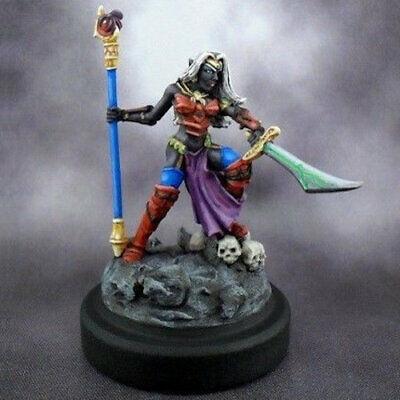 Reaper Warlord 14590 Liela Mordollwen Dark Elf Sorceress