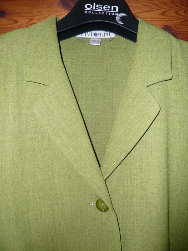 ***frischer Leichter Blazer V. Fashionline Gr. 42 Grün - Neu !!!