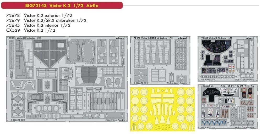 Eduard Big Ed 72143 1  72 Handley -Page Victor K.2 Airfix