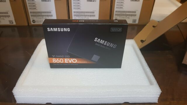 "SSD interno Samsung 860 EVO  2.5""  500GB  MZ-76E500B/EU  NEW!"