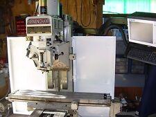 Birmingham B2vs 3 Axis Cnc Kneemill Milling Machine With Centroid Cnc Control