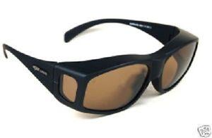 2cf28c0fdc9 Image is loading EyeLevel-Polarized-Sunglasses-Wear-Over-Your-Glasses-Kills-