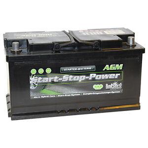 intact start stop agm900 premium autobatterie. Black Bedroom Furniture Sets. Home Design Ideas