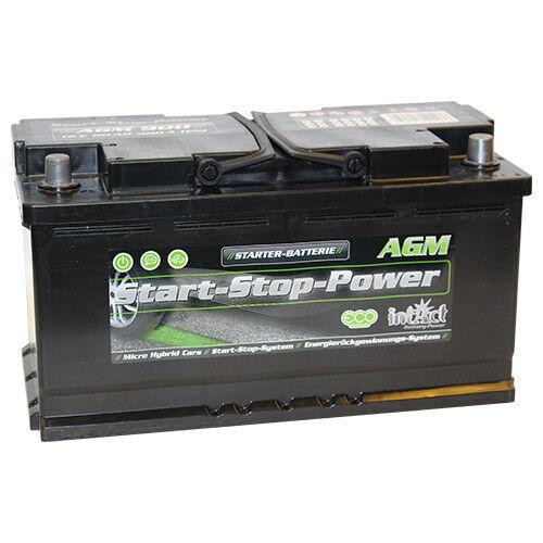 Intact Start-Stop AGM900 PREMIUM Autobatterie Starterbatterie 12V 90Ah *NEU*