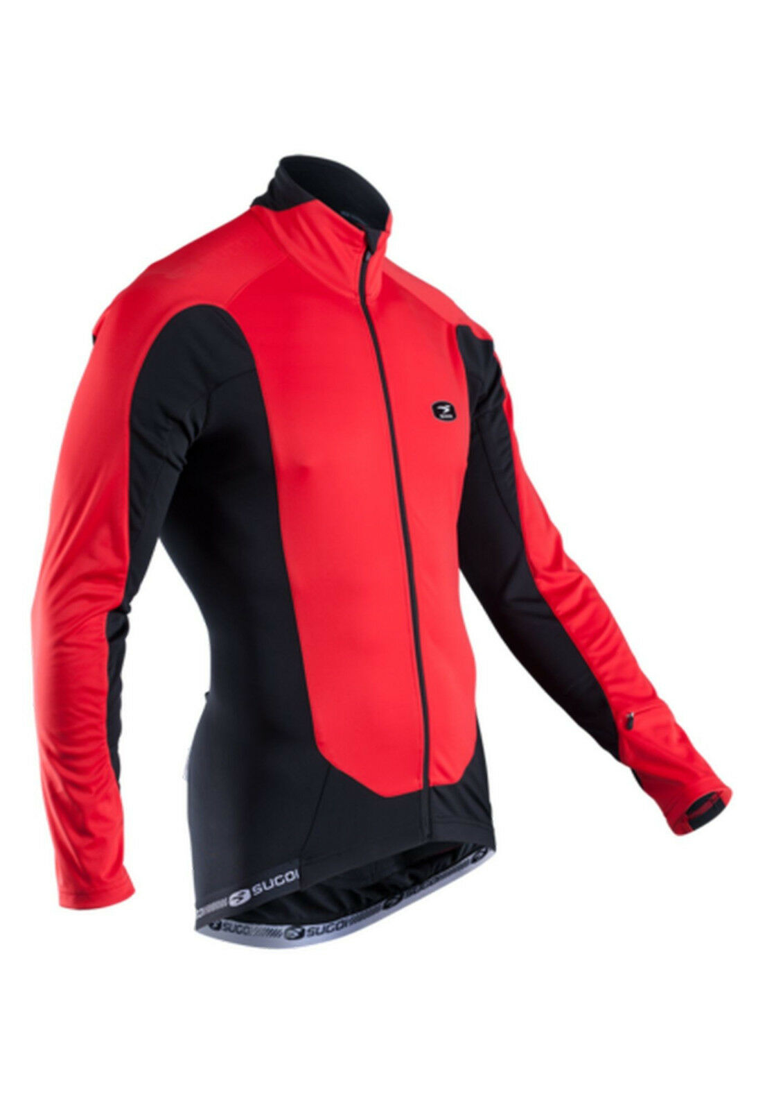 Sugoi RS Zero Thermal Long Sleeve Jersey Red Size Large New