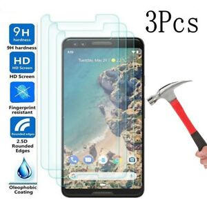3X-9H-Real-Tempered-Glass-Screen-Protector-Saver-for-Google-Pixel-3
