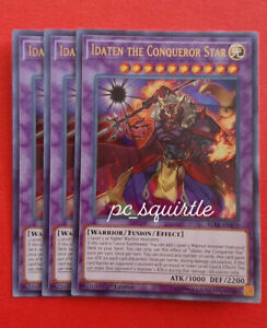 Played Yu-Gi-Oh Doppelwarrior STOR-EN002 Rare X3