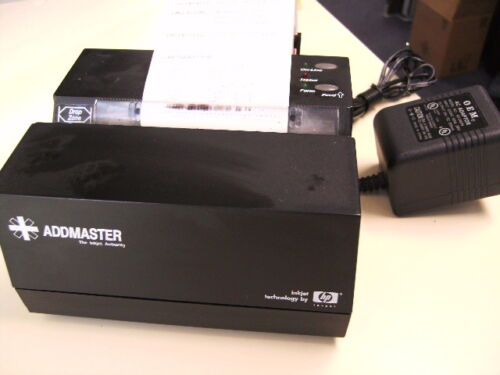 Addmaster IJ608012B black color Label Inkjet Printer USB