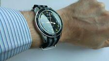 Weros 'Seamaster 300' Homage Men's Watch Bond 007 Spectre Diver Style NATO Strap