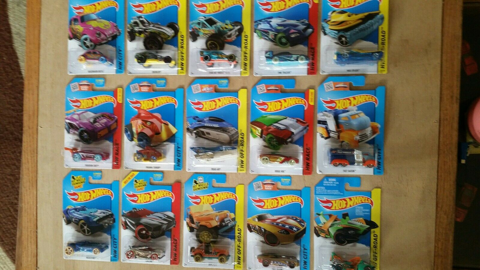 2015~COMPLETE SET OF 15 ~REGULAR ~REGULAR ~REGULAR TREASURE HUNTS~HOT WHEELS~RARE~COLLECTIBLE 7e69df