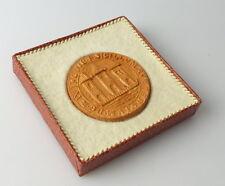 Medaille 850 Jahre Zwickau Ältestes Stadtsiegel 1190 / r280